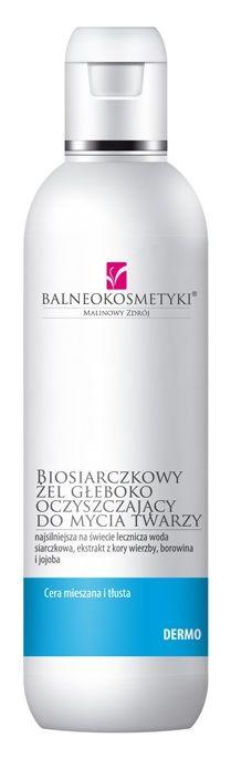 Balneokosmetyki - Biosiarczkowy żel głęboko oczyszczający hitem na pryszcze?